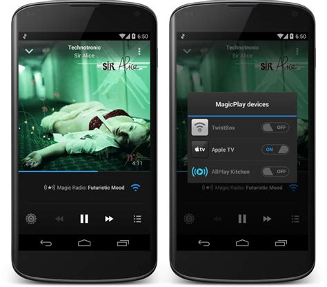 apple tv airplay for android magic radio for android can now airplay to your apple tv