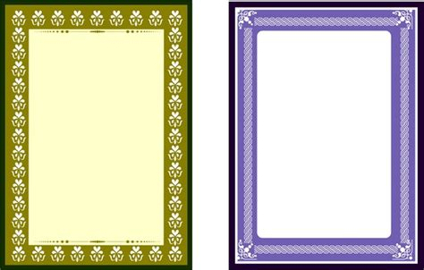 download layout frame frames design with retro style rectangular shape free