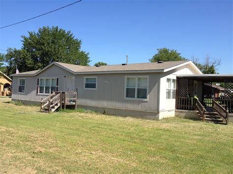 3 bedroom trailer mobile home for rent in allen ok 74825 580rentals com