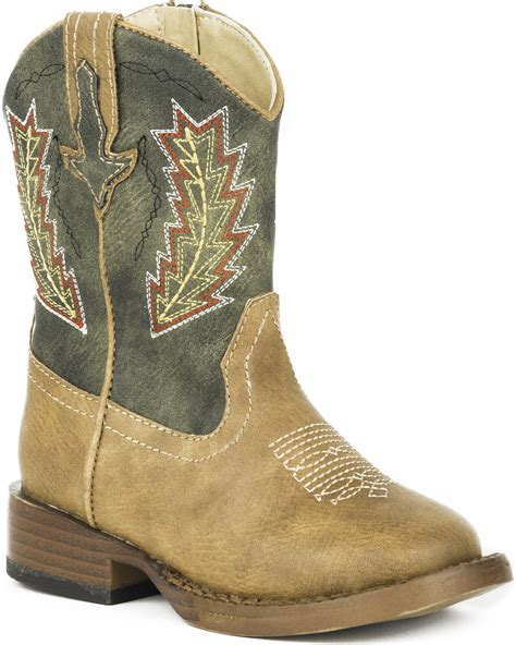 toddler boys cowboy boots roper toddler boys arrowheads cowboy boots square toe