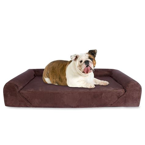 orthopedic dog beds large big barker quot pillow top orthopedic dog bed for large