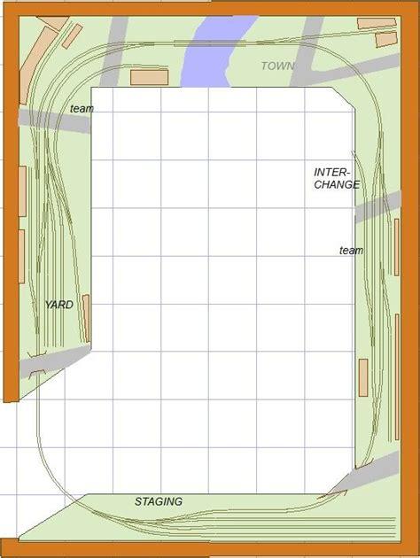 ho shelf plan layouts images track plans