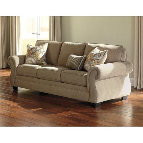 ashley fabric sofa ashley tailya fabric sofa in barley 4770038