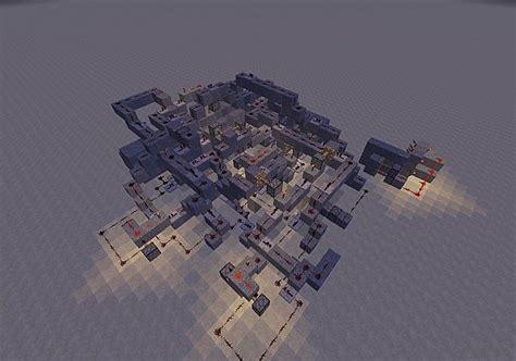 really complex redstone code door minecraft project