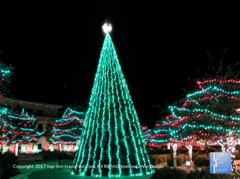 5 Tucson Holiday Events Not To Be Missed Top Ten Travel Musical Trees With Synchronized Lights