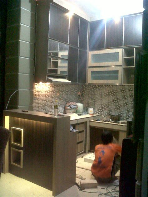 tukangmebelhpl interior design booth pameran kitchen