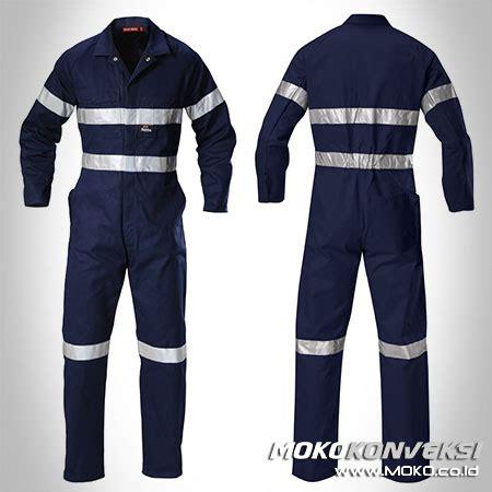 Baju Kerja Wearpack seragam wearpack overall dongker konveksi semarang moko