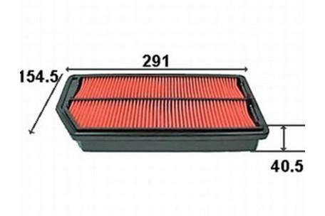 Filter Bensin Odyssey 00 03 Original a28864 air filter honda honda odyssey 3 0l 3l v6 3l 2000 2002 ra8 petrol j30a1 mpfi sohc 24v