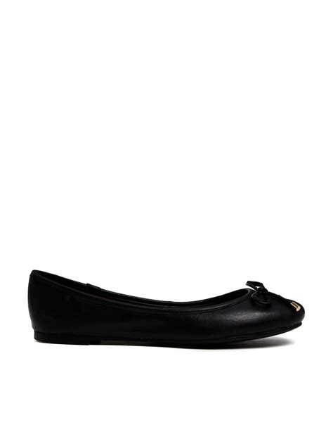 aldo shoes flats aldo koten leather flat shoes in black lyst