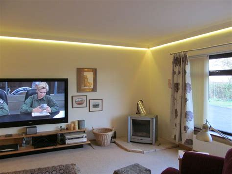 Kitchen Cabinet Pelmet by Concealed Led Tape Colour Changing Coving Lighting