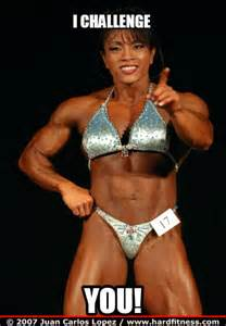 Female Bodybuilder Meme - femuscleblog page 14 a tribute to athletic and
