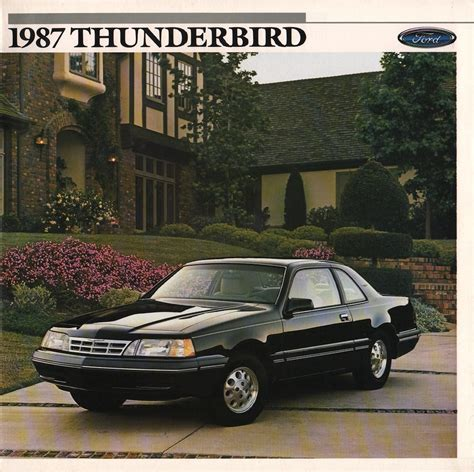 small engine service manuals 1988 ford thunderbird head up display service manual ford 1988 thunderbird sales brochure 1966 ford lincoln mercury full line