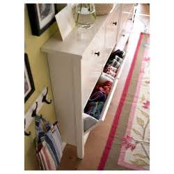 Trones Shoe Cabinet Hemnes Shoe Cabinet With 4 Compartments White 107x101 Cm