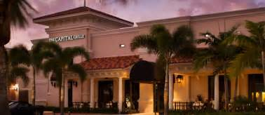palm gardens locations the capital grille restaurant