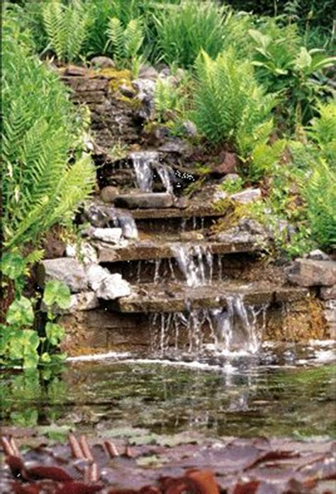 how to make a pond in your backyard how to build a waterfall in your garden building an