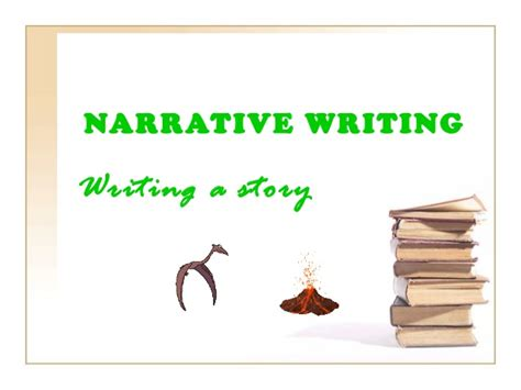 Writing A Narrative Essay Powerpoint by Narrative Writing Ppt