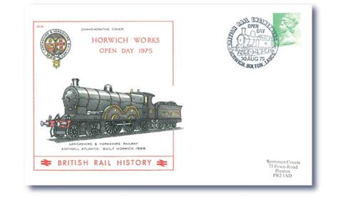 Gb Cover Horwich Works Open Day 30 Aug 75 Buckingham Covers 1975 Horwich Works Open Day