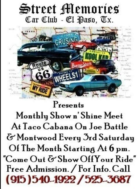 el paso corvette club el paso area events beyond phantom vettes corvette club