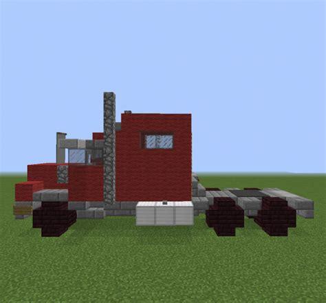 minecraft semi truck semi trailer truck grabcraft your number