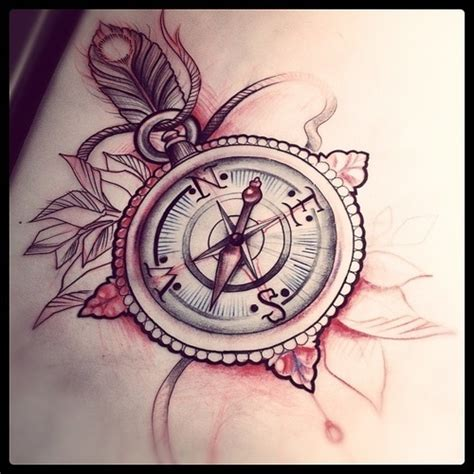 compass tattoo take me home 40 awesome compass tattoos desiznworld