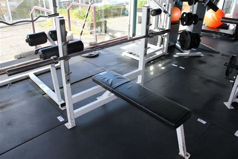 bench press station powerlifting equipment