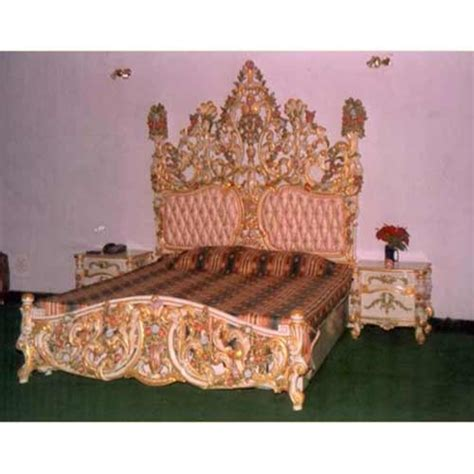 wood carving bed hand carved bed brass wood designers in paschim vihar
