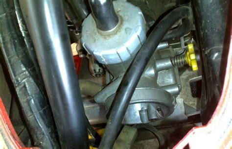 Filter Karburator Satria Fu cara memasang keihin pe28 di satria fu seputar sepeda motor