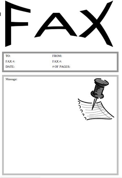 printable professional fax cover sheet 71 images doc 12751650
