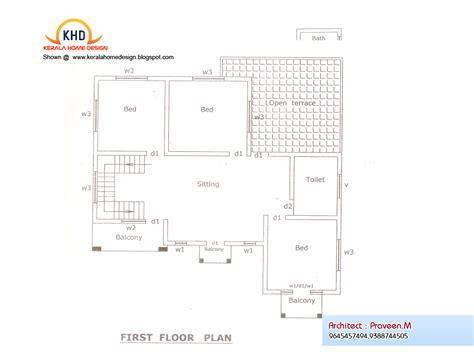 home plan and elevation 2840 sq ft home appliance