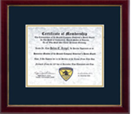 design your own diploma frame professional certificate and license frames church hill