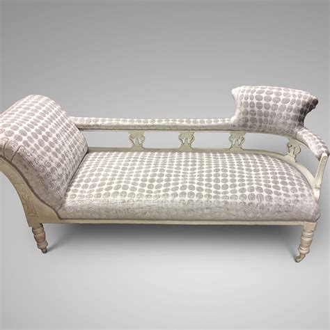 decorative chaise lounge a decorative painted chaise lounge ca 1890 1910
