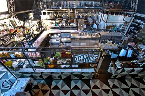 Industrial Kitchen Design Layout Masterchef Dining And Bar Pop Up Restaurant By Azbcreative