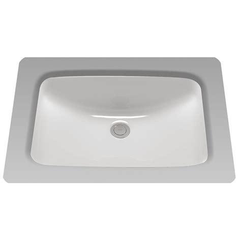 toto undermount lavatory sinks toto lt542g 01 20 7 8 quot rectangular undermount bathroom sink