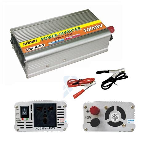 Promo Terbaru Power Inverter 1000w Dc 12v To Ac 220v 1000 Watt 1000w power inverter sda 1000 end 9 21 2015 8 00 am