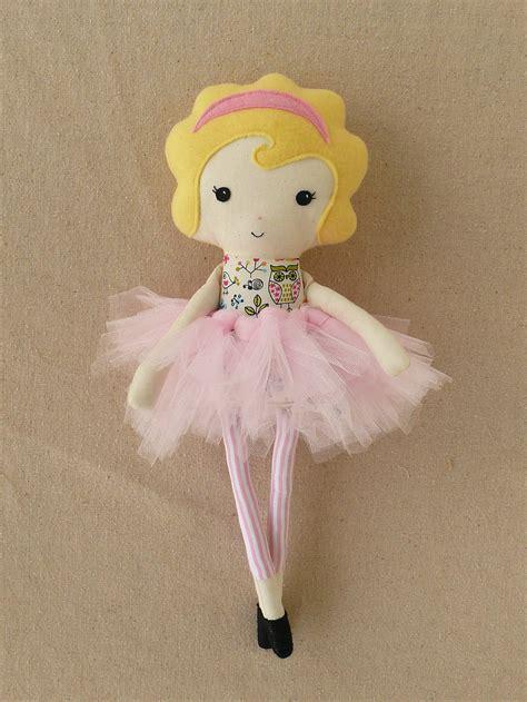 rag doll g fabric doll rag doll with pink tutu