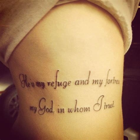 psalms tattoos psalm 91 tats