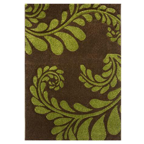 brown green rug kukoon