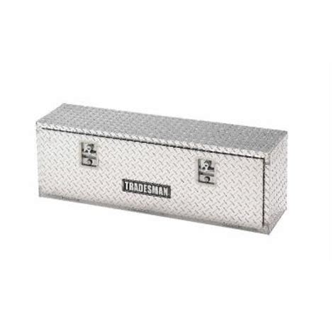lund 48 in aluminum top mount truck tool box 8148 the
