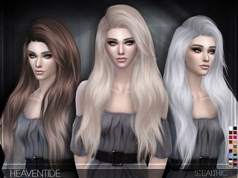 sims 3 hair braid tsr the sims resource over stealthic heaventide female hair