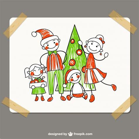Family Natal I Do desenho da fam 237 lia do natal baixar vetores gr 225 tis