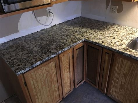 light granite kitchen countertops portofino light granite countertops in kitchen