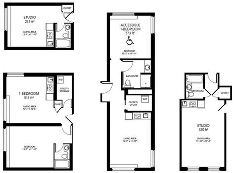 micro apartments floor plans a peek at the 395 micro apartments planned for the