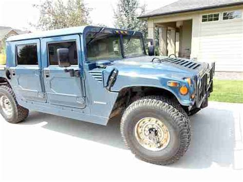 how does a cars engine work 1999 hummer h1 head up display find used 1995 hummer h1 4dr pu gas 68k blue needs motor work as is in mccammon idaho united