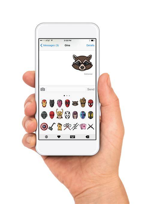marvel emoji set behance