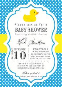 duck baby shower invitation printable rubber duck polka dot baby shower by notableaffairs