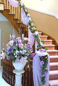 flower decoration in home white and purple flower wedding home decoration ideas