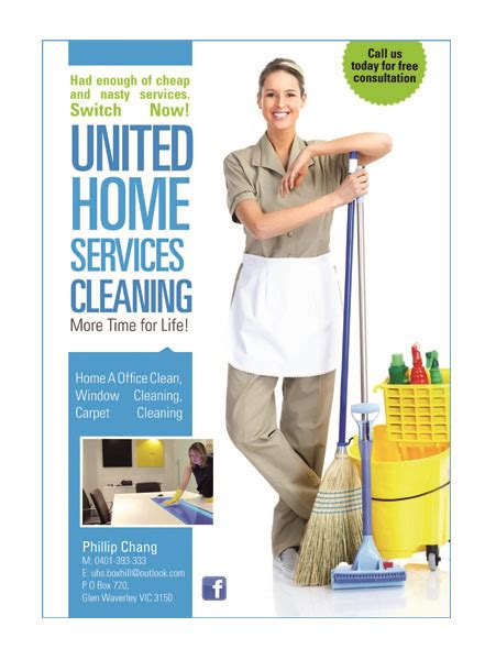 design cleaning flyer bold modern flyer design for phillip chang by mastermind