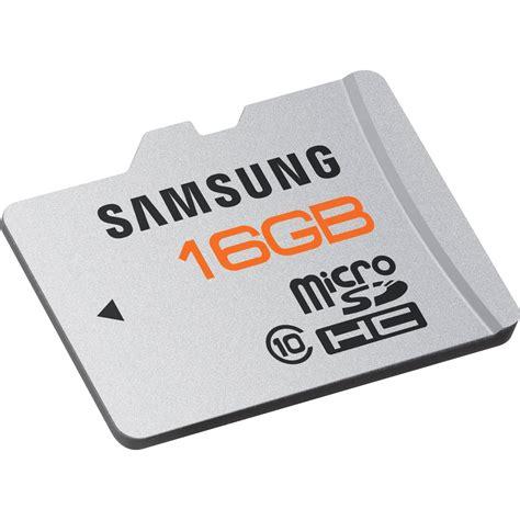 Memory Samsung 16gb samsung 16gb microsdhc memory card plus series class mb mpaga us