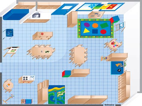 preschool classroom floor plan room diagram maker ecers preschool classroom floor plan