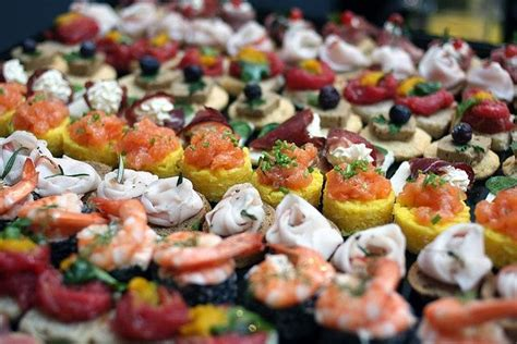 finger foods for a wedding wedding finger foods canap 233 s